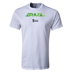 Brazil 2014 FIFA World Cup Brazil(TM) T-Shirt (White)