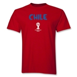 Chile 2014 FIFA World Cup Brazil(TM) Core T-Shirt (Red)