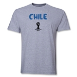 Chile 2014 FIFA World Cup Brazil(TM) Core T-Shirt (Grey)