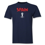 Spain 2014 FIFA World Cup Brazil(TM) Core T-Shirt (Navy)
