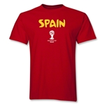 Spain 2014 FIFA World Cup Brazil(TM) Core T-Shirt (Red)