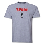 Spain 2014 FIFA World Cup Brazil(TM) Core T-Shirt (Gray)