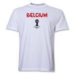 Belgium 2014 FIFA World Cup Brazil(TM) Core T-Shirt (White)