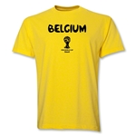 Belgium 2014 FIFA World Cup Brazil(TM) Core T-Shirt (Yellow)