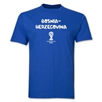 Bosnia-Herzegovina 2014 FIFA World Cup Brazil(TM) Core T-Shirt (Royal)
