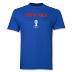 Costa Rica 2014 FIFA World Cup Brazil(TM) Men's Basic Core T-Shirt (Royal)