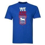 Ipswich Town We Are T-Shirt (Royal)
