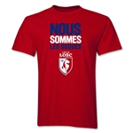 LOSC Lille We Are T-Shirt (Red)