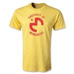 Morelia Monarcas Distressed Logo T-Shirt (Yellow)