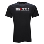 Manchester United Red Devils T-Shirt (Black)