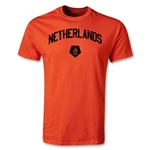 Netherlands Distressed T-Shirt (Orange)