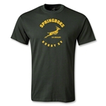 South Africa Springboks Rugby 15 T-Shirt (Dark Green)