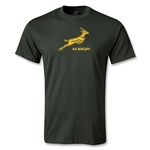 South Africa Springboks Bok T-Shirt (Dark Green)