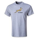 South Africa Springboks Logo T-Shirt (Gray)