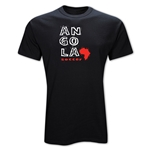 Angola Country T-Shirt (Black)