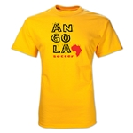 Angola Country T-Shirt (Yellow)
