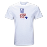 Cape Verde Country T-Shirt (White)