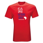 Cape Verde Country T-Shirt (Red)