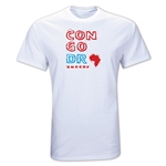 Congo DR Country T-Shirt (White)