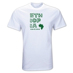 Ethiopia Country T-Shirt (White)