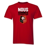 Stade Rennais FC We Are T-Shirt (Red)