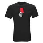 Red Card Graphic T-Shirt (Black)