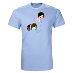 Telephone Graphic T-Shirt (Sky)