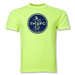 Tottenham Distressed Logo T-Shirt (Neon Green)