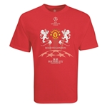 Manchester United Road to London 2 Leones Camiseta de Futbol