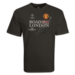 Manchester United 2011 Road to London T-Shirt (Black)