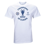 Chelsea 2012 Champions of Europe T-Shirt (White)