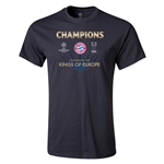 UEFA Champions League Winners Mens T-Shirt (Black)