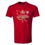 UEFA Champions League Winners Mens T-Shirt (Red)
