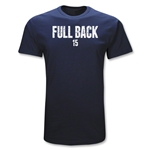 Full Back Position Rugby T-Shirt (Navy)