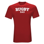 Rugby Dad T-Shirt (Red)