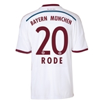 Bayern Munich 14/15 RODE Away Soccer Jersey