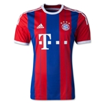 Bayern Munich 14/15 Authentic Home Soccer Jersey