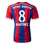 Bayern Munich 14/15 MARTINEZ Authentic Home Soccer Jersey