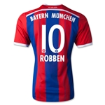 Bayern Munich 14/15 ROBBEN Authentic Home Soccer Jersey