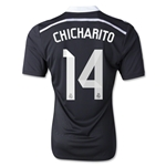 Real Madrid 14/15 CHICHARITO Third Soccer Jersey