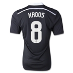 Real Madrid 14/15 KROOS Third Soccer Jersey