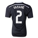 Real Madrid 14/15 VARANE Third Soccer Jersey