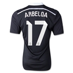 Real Madrid 14/15 ARBELOA Authentic Third Soccer Jersey