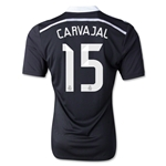 Real Madrid 14/15 CARVAJAL Authentic Third Soccer Jersey