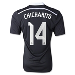 Real Madrid 14/15 CHICHARITO Authentic Third Soccer Jersey