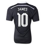 Real Madrid 14/15 JAMES Authentic Third Soccer Jersey
