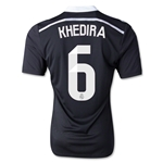 Real Madrid 14/15 KHEDIRA Authentic Third Soccer Jersey