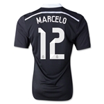 Real Madrid 14/15 MARCELO Authentic Third Soccer Jersey