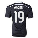 Real Madrid 14/15 MODRIC Authentic Third Soccer Jersey