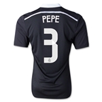 Real Madrid 14/15 PEPE Authentic Third Soccer Jersey